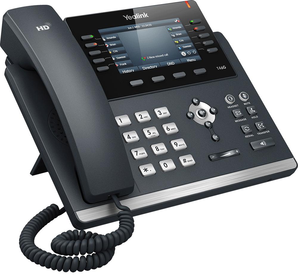 Transfert Yealink T46S VoIP OVH